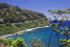 Estrada de Hana Imagem de Stock