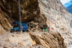 Estrada de Karakorum em Paquistão foto de stock