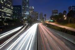 Estrada de Los Angeles Imagens de Stock