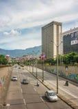 Estrada de Medellin em Sunny Day foto de stock royalty free