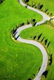 Estrada de Montichiello Siena imagem de stock royalty free