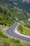 Estrada de Mountaine. foto de stock royalty free