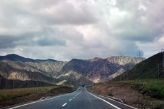 Estrada de Mountan fotografia de stock