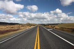 Estrada de Nova Zelândia imagem de stock