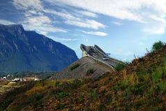 Estrada de Oceano Atlântico em Noruega Fotos de Stock