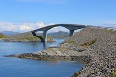 Estrada de Oceano Atlântico. Noruega foto de stock royalty free