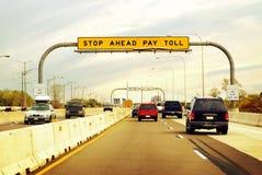 Estrada de pedágio Imagem de Stock Royalty Free