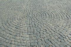 Estrada de pedra Fotografia de Stock