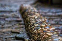 A estrada de pedra imagem de stock