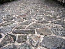 Estrada de pedra natural Fotografia de Stock