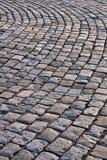 Estrada de pedra velha fotografia de stock royalty free
