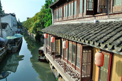 Estrada de Pingjiang Fotografia de Stock