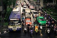 Estrada de Sukhumvit Imagem de Stock Royalty Free