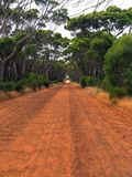 Estrada de terra Imagens de Stock Royalty Free
