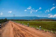 Estrada de terra Fotografia de Stock