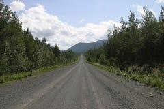 Estrada de terra Imagem de Stock
