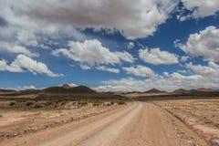 Estrada de terra de Argentina Imagem de Stock Royalty Free