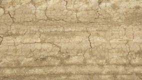 Estrada de terra desvanecida velha Imagem de Stock