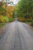 Estrada de terra do país Fotografia de Stock Royalty Free