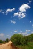 Estrada de terra rural Foto de Stock Royalty Free