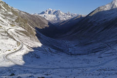 Estrada de Tibet-Sichuan Fotos de Stock