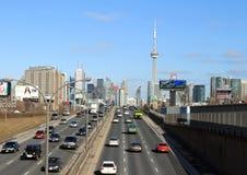 Estrada de Toronto imagens de stock royalty free
