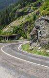 Estrada de Transfagarasan Fotos de Stock Royalty Free