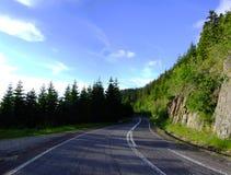 Estrada de Transfagarasan Foto de Stock Royalty Free