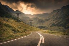 Estrada de Transfagarasan Imagem de Stock Royalty Free