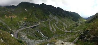 Estrada de Transfagarasan em Romania Imagens de Stock