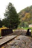 Estrada de trilho velha. Fotografia de Stock