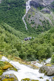 Estrada de Trollstigen Fotografia de Stock