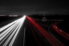 Estrada a dirigir imagem de stock