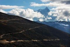 A estrada do altiplano Imagem de Stock