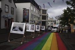 A estrada do arco-íris Fotos de Stock Royalty Free