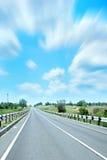 Estrada do carro Fotografia de Stock Royalty Free