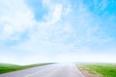 Estrada do carro Fotos de Stock Royalty Free