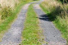 Estrada do cascalho Imagem de Stock