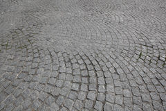 Estrada do Cobblestone imagem de stock royalty free