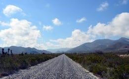 Estrada do Cobblestone em México Imagem de Stock