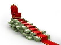 Estrada do conceito ao sucesso Imagens de Stock Royalty Free
