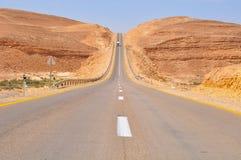 Estrada do deserto. Fotografia de Stock Royalty Free