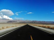 Estrada do deserto Imagem de Stock Royalty Free