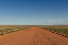 Estrada do deserto a em nenhuma parte Imagem de Stock