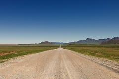 Estrada do deserto a em nenhuma parte Fotografia de Stock Royalty Free