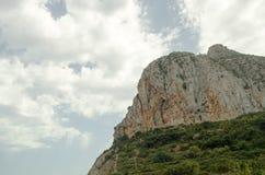 Estrada 9 do fim de semana da viagem do céu das montanhas da paisagem de Europa fotografia de stock