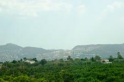 Estrada 7 do fim de semana da viagem do céu das montanhas da paisagem de Europa Imagens de Stock