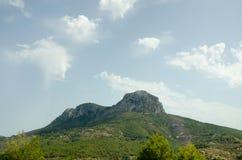 Estrada 13 do fim de semana da viagem do céu das montanhas da paisagem de Europa Foto de Stock Royalty Free