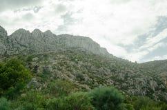 Estrada 10 do fim de semana da viagem do céu das montanhas da paisagem de Europa Fotos de Stock