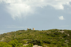 Estrada 11 do fim de semana da viagem do céu das montanhas da paisagem de Europa Fotografia de Stock